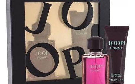 JOOP! Homme dárková kazeta pro muže toaletní voda 75 ml + sprchový gel 75 ml