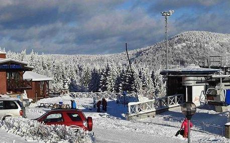 Krušné hory: Hotel Emeran a Chata Emeran II a Lyžařská chata