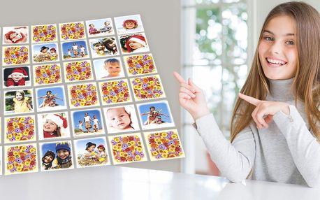 Pexeso z vlastních fotografií: 36 nebo 64 kartiček