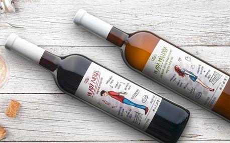 Pár mladých vín z Moravy z vinařství Bartoník