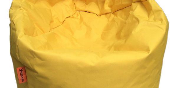 Sedací vak Nina | Velikost: L | Žlutá4
