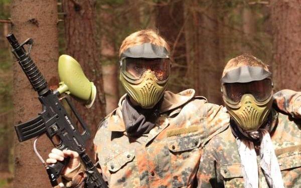 Paintballový tábor v jižních Čechách