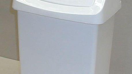 CURVER CLICK 31404 Koš odpadkový 15l - bílý