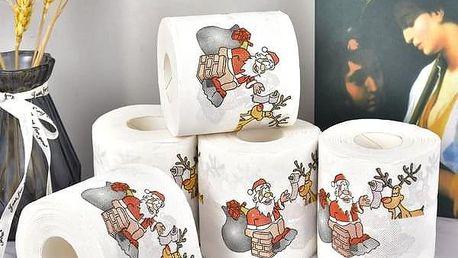 Vánoční toaletní papír Finley