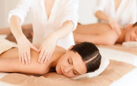 Hodinová párová masáž dle výběru