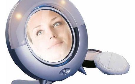 Kosmetické LED zrcátko Lifetime Beauty, šedá
