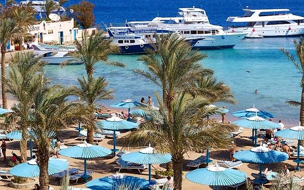 Hotel Le Pacha Resort, Hurghada, letecky, all inclusive5