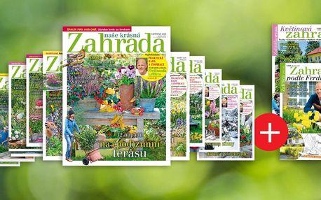 Roční předplatné Naše krásná zahrada se 2 speciály