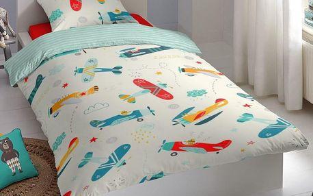 Good Morning Povlečení Good Morning 100% bavlna Foxtrot 140x200/70x90 cm