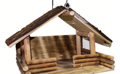 Dřevěné krmítko Roman, 24 x 37 x 34 cm