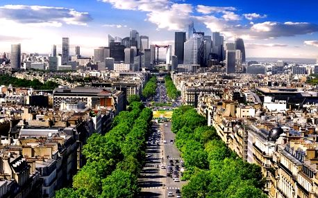Paříž se zastávkou ve Versailles a Fontainebleau