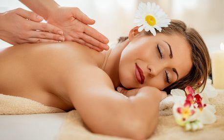 Klasická nebo relaxační masáž zad či celého těla