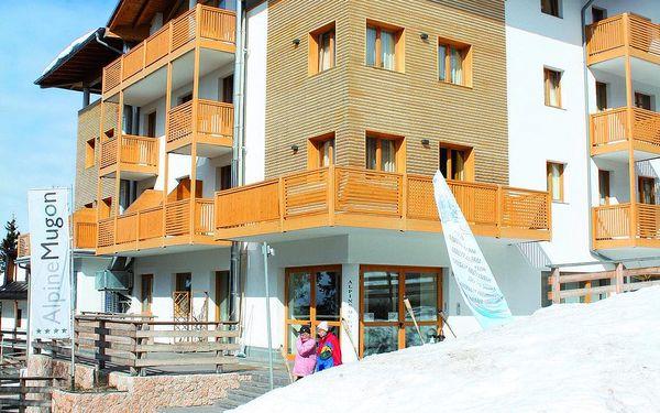 Hotel Alpine Mugon, Skirama Dolomiti Adamello Brenta, vlastní doprava, polopenze3