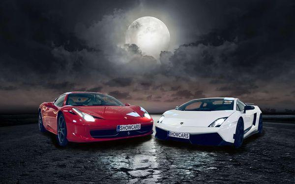 Showcars - adrenalinová večerní jízda v nabušených supersportech