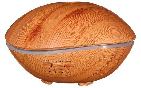 Sixtol Aroma difuzer Stone světlé dřevo, 500 ml