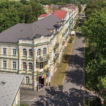 Františkovy Lázně, hotel Metropol*** s tradiční lázeňskou léčebnou kúrou