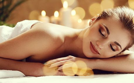 60minutová relaxační masáž s výběrem vonné esence
