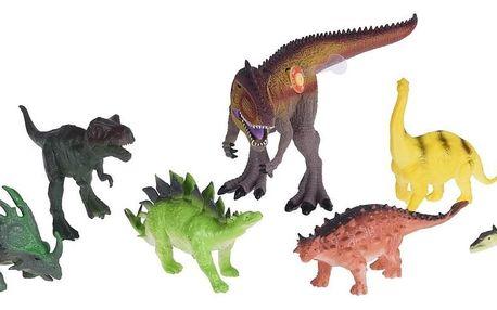 Dětský hrací set Dinosaur safari, 7 ks