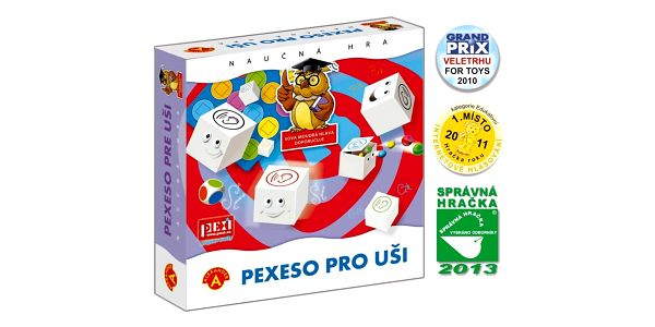Pexi Společenská hra Pexeso pro uši2