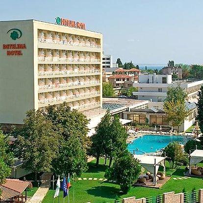 Bulharsko - Zlaté Písky letecky na 8-15 dnů, snídaně v ceně