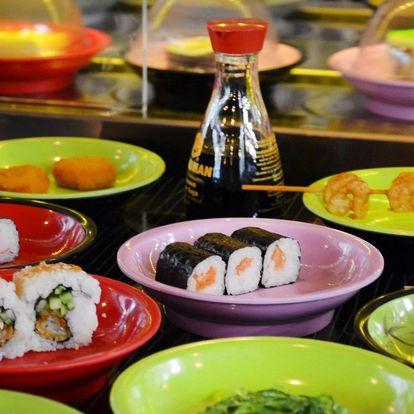 2 hodiny running sushi pro 1 nebo 2 osoby či rodinu