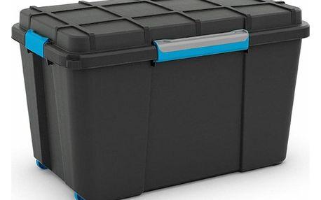 KIS Plastový Scuba Box XL 106 L modré zavírání