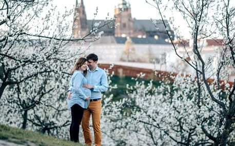 Focení v Praze: krásné parky i romantické uličky