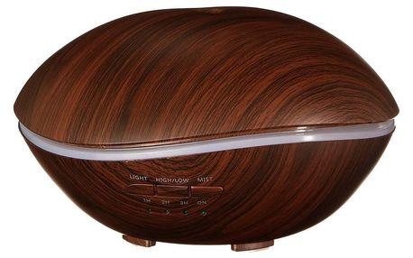 Sixtol Aroma difuzer Stone tmavé dřevo, 500 ml