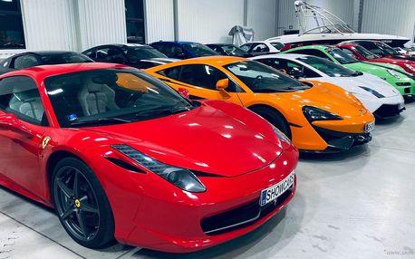 Jízda ve Ferrari, Lamborghini, SHELBY, ...