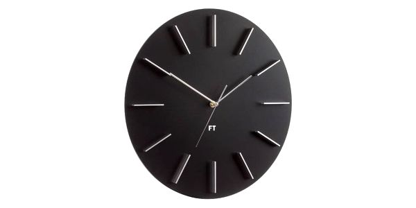 Future Time FT2010BK Round black Designové3