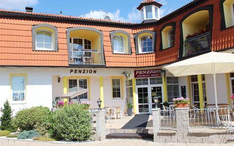 Penzion Hortenzie ve Františkových Lázních s polopenzí s Aquafórem