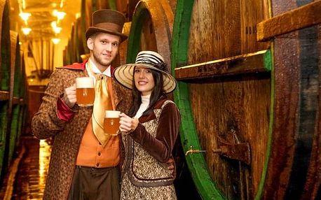 Plzeň pro milovníky piva: Hotel Victoria *** s prohlídkou pivovaru včetně ochutnávky + sauna a polopenze