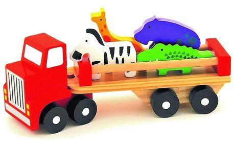 Trefl Nákladní auto se zvířátky Safari