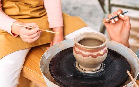 Modelování a malování keramiky pro malé i velké
