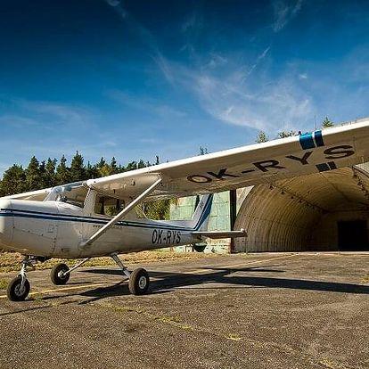 Fotolet s letadlem Cessna 172