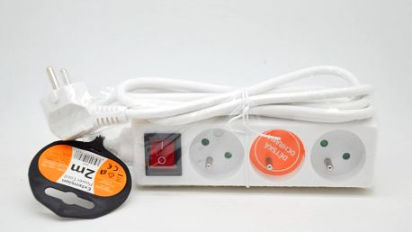 Prodlužovací Přívod 2m*PP11*vypínač