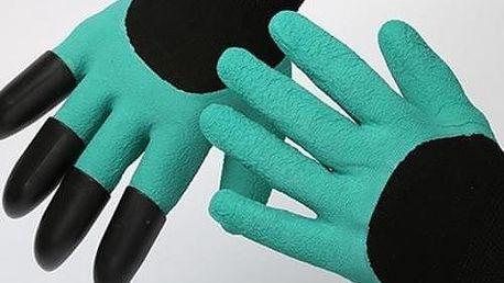 Speciální zahradní rukavice pro rytí a sázení