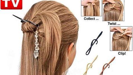 Spony do vlasů - Twist n Clip