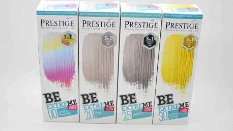 Prestige Be Extreme Barva Na Vlasy 100ml. Barva: 25 Graphite