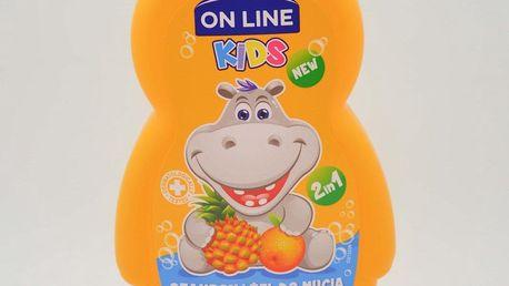 On Line Kids Dětský Šampon + sprchový gel 250ml: Exotic cocktail