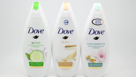 Dove sprchový gel: Go fresh - Cucumber & green tea scent