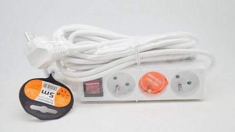 Prodlužovací Přívod 5m*PP13*vypínač