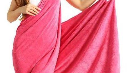 Osuškové šaty na tenká ramínka