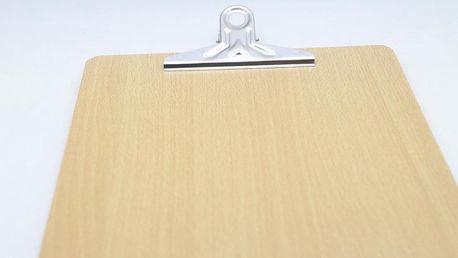 A4 podložka dřevěná