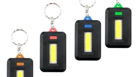 Svítící LED klíčenka se 3 módy svícení