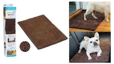 Absorpční podložka pro očištění psích tlapek