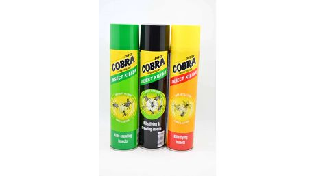 Super Cobra sprej na létající hmyz 400 ml