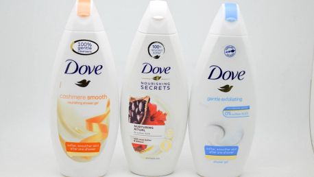 Dove sprchový gel: Cashmere smooth
