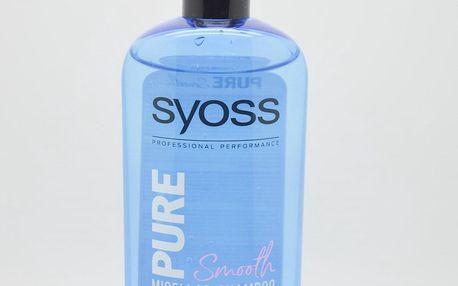 Syoss Pure smooth Micellar Shampoo 500 ml šampon