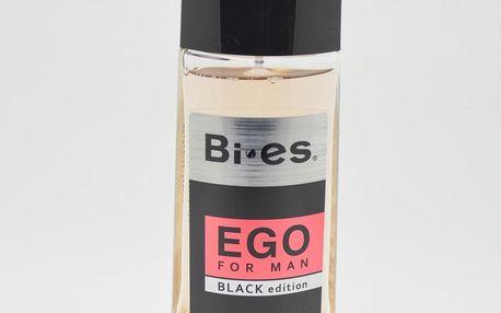 Bies Parfum For Men 100ml - deodorant pánský Ego for man - black edition